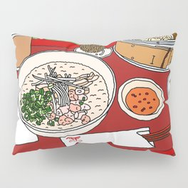 Happy Dim Sum Platter Pillow Sham
