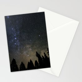 Orionids over Big Sky Stationery Cards