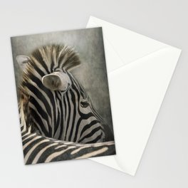 The striped Mohican Stationery Cards