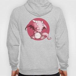 Little Pink Sleepy Dragon Hoody