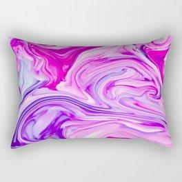 Marble Madness Rectangular Pillow