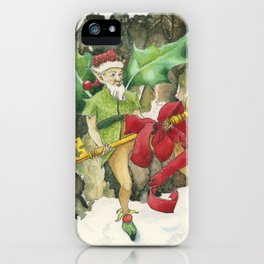 Thorn the Holly Kingdom Gatekeeper iPhone Case