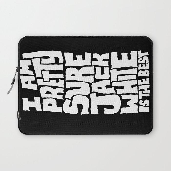 Jack White Laptop Sleeve