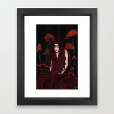 Keeper of the forest Framed Art Print