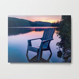 Sunsets & Summer Nights at the Cottage Metal Print