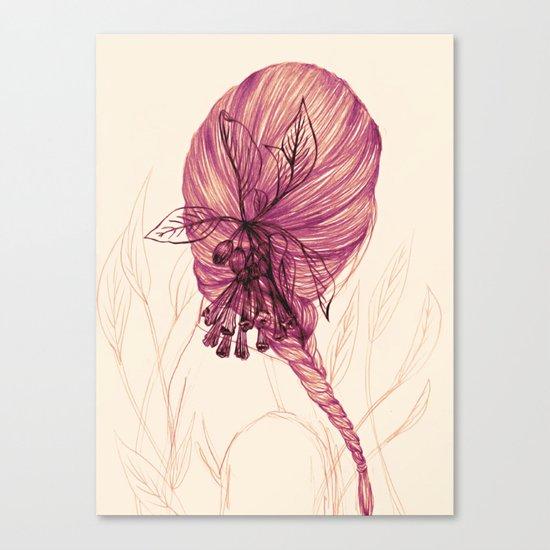 Hair Plant Canvas Print