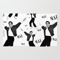 elvis presley Area & Throw Rugs featuring Elvis Presley NaeNae by Far-Real