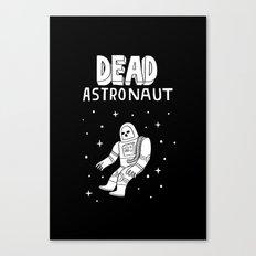 Dead Astronaut Canvas Print