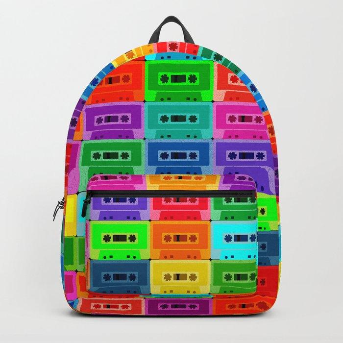 Neon Cassettes Rucksack