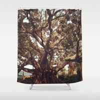 inspiration Shower Curtains featuring Inspiration by Out of Line