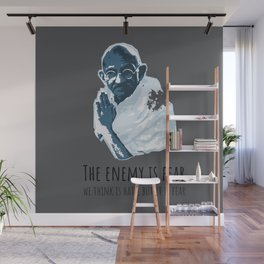 The Enemy is Fear Wall Mural