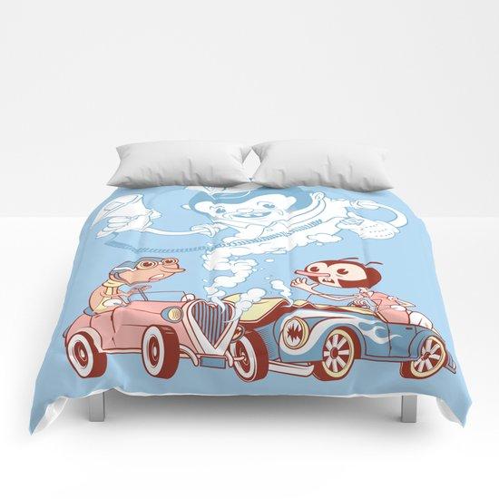 CrashBoomBang Comforters