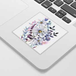 Wildflowers V Sticker