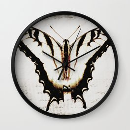 Butterfly Tiger Swallowtail A475 Wall Clock