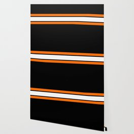 Team Colors...Orange , white stripes with black Wallpaper