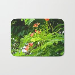 Trees and Blooms 2  Bath Mat
