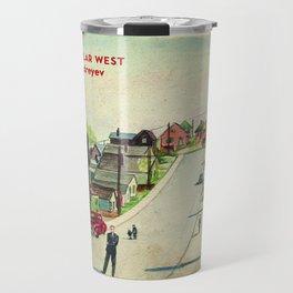 The Tubular West (Cover) Travel Mug