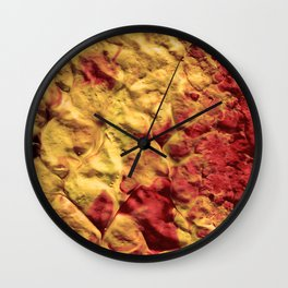 Volcano Spiral Wall Clock
