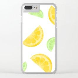 Citrus Circus Clear iPhone Case