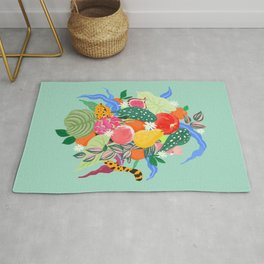 Fruits and Jungle Combo Rug