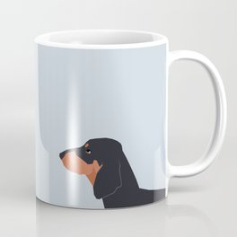 Dakota - Dachshund phone case fun and bright for pet lovers and gift for dog people Coffee Mug