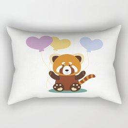 Lovely Red Panda Rectangular Pillow