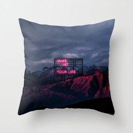 make art Throw Pillow