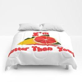 Bitter Grapefruit Comforters