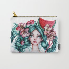 Watermelon Girl Carry-All Pouch