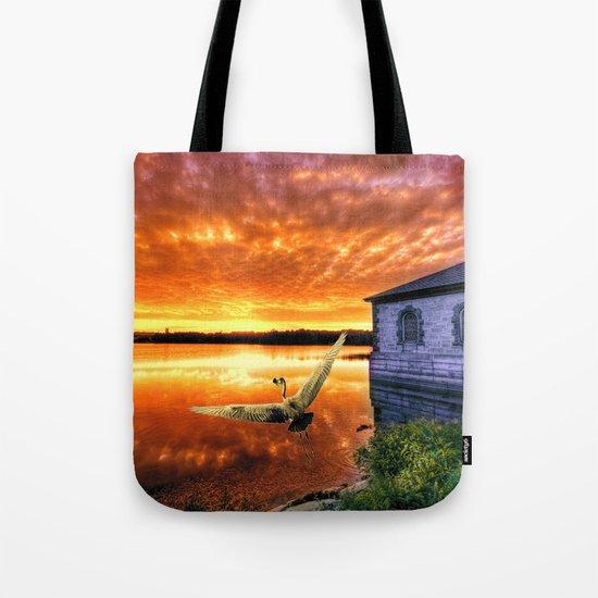 Circle of life - Sunset Magic Moment Tote Bag