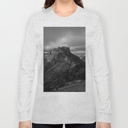 Top of Lost Mine Trail Mountaintop View, Big Bend - Landscape Photography Long Sleeve T-shirt