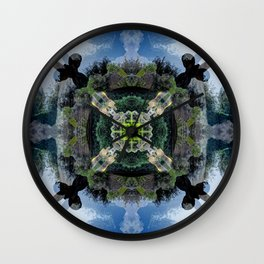Tranquil: Giardino di Boboli Wall Clock