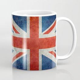 Union Jack flag, grungy retro 1:2 scale Coffee Mug