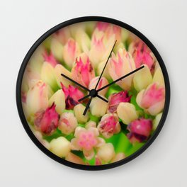 Bunch of flowers2 Wall Clock