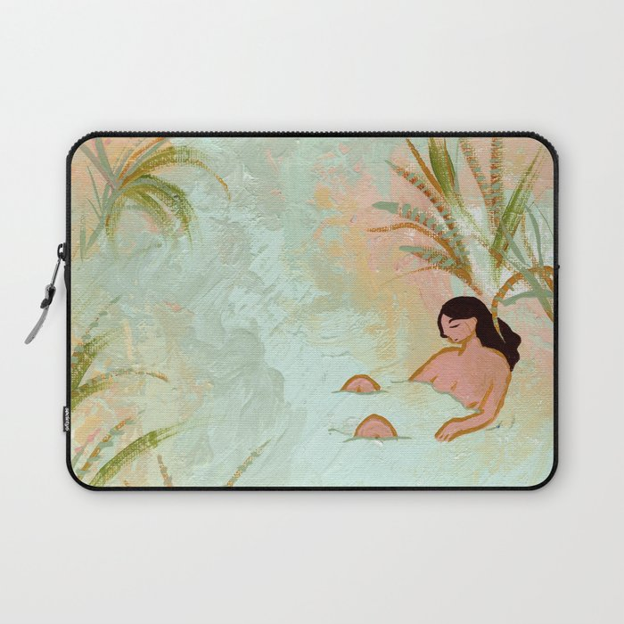 River Meeting Laptop Sleeve