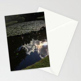 Pond Reflection Stationery Cards