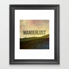 Wanderlust I Framed Art Print