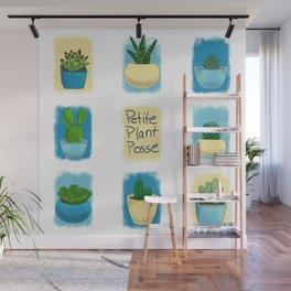 Petite Plant Posse Wall Mural
