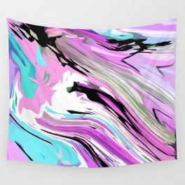 Marbled Lilac Wall Tapestry