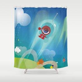 The Eyez - Astronaut Shower Curtain