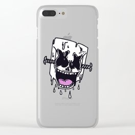 crazymello Clear iPhone Case