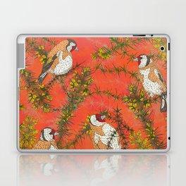 Goldfinches in Gorse Laptop & iPad Skin