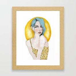 leogirl Framed Art Print