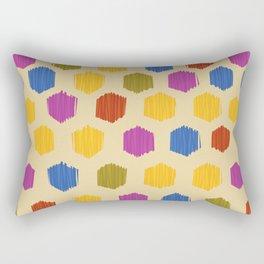 Ikat Pattern Rectangular Pillow