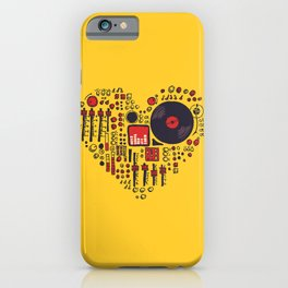 Music in every heartbeat iPhone Case