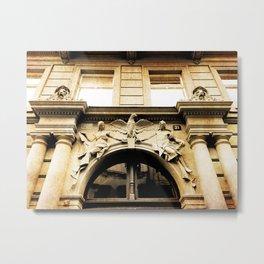 Art Nouveau in Prague Metal Print