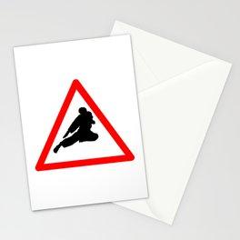 Street Fight Stationery Cards