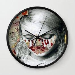 La S Wall Clock