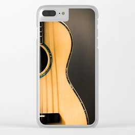 light and shapes Clear iPhone Case