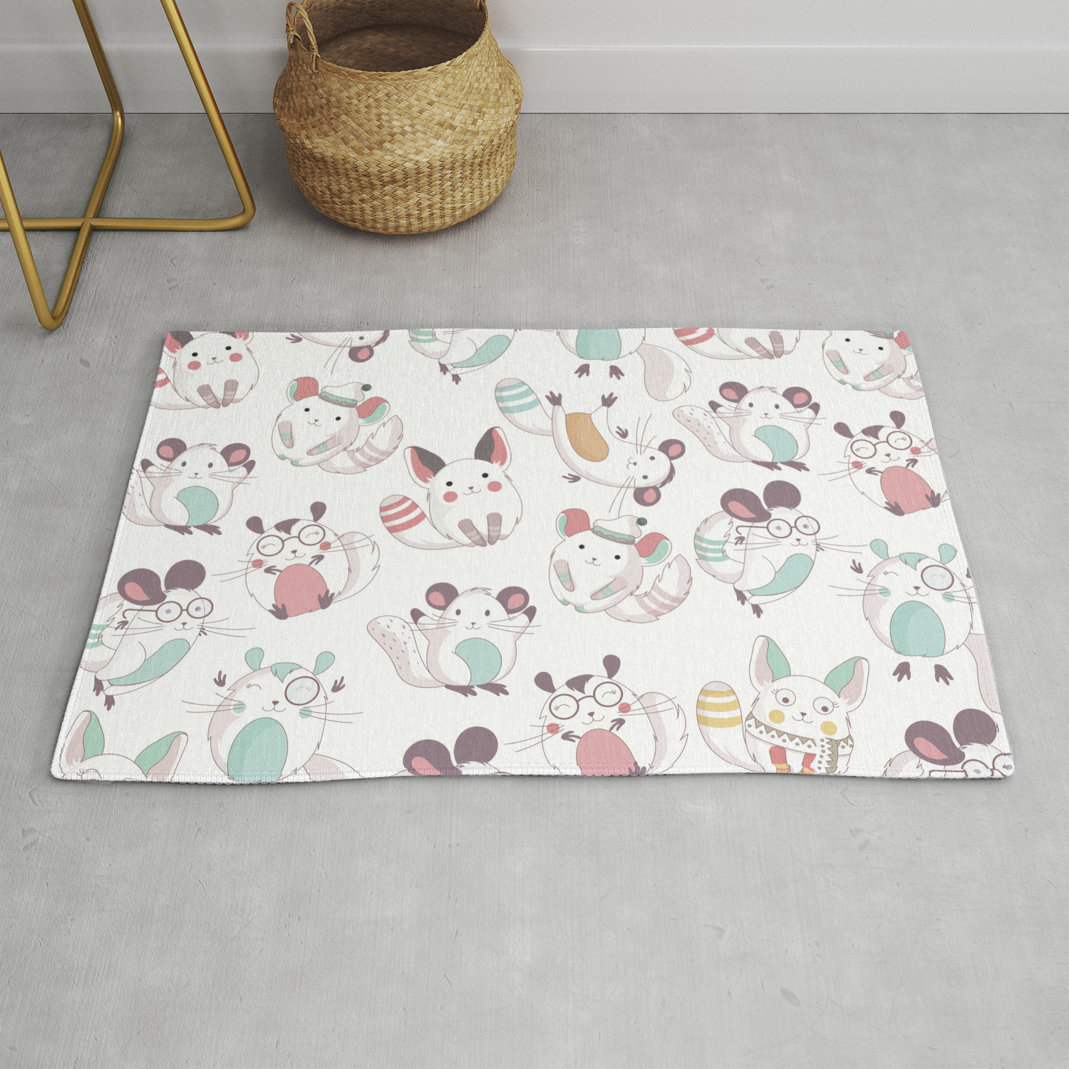 Champion Cute Rug By Original Wicked